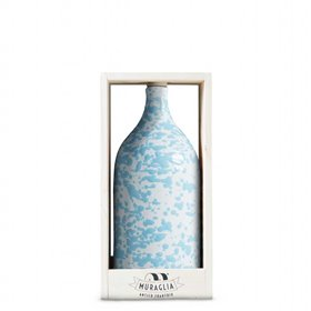 Extra Virgin Olive Oil Magnum Blue Ceramic Jar (Medium Fruity) 1500ml