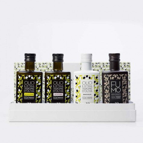 Coffret d'Huile d'Olive Extra Vierge (4x 250ml)