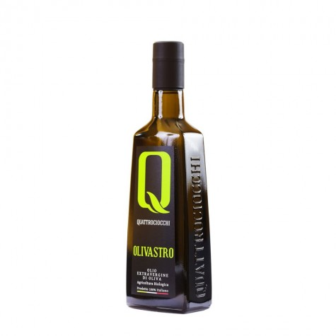 "Quattrociocchi ""Olivastro"" Natives Olivenöl Extra BIO 500ml"