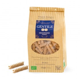 Organic Whole Wheat Fusilli Gragnanos Pasta 500g