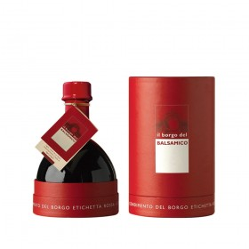 Il Borgo del Balsamico - The Red Cylinder Gift Box - Condimento del Borgo 250ml