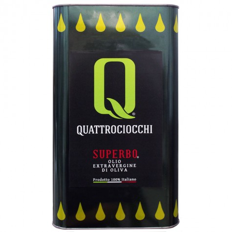 Quattrociocchi Superbo Extra Virgin Olive Oil 5lt