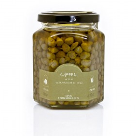 La Nicchia Pantelleria - Capers in Extra-Virgin Olive Oil 240g