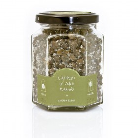 La Nicchia Pantelleria - Medium Capers in Sea Salt 200g