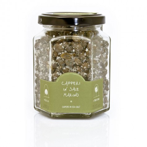 Medium Capers in Sea Salt 200g