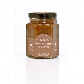La Nicchia Pantelleria - Sun Dried Tomatoes and Caper Paste 100g