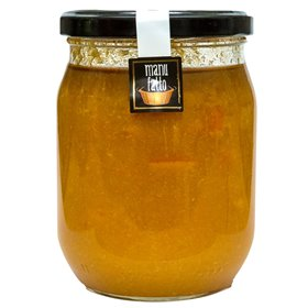 Marmelade Extra d'Orange Rouge Tarocco 600g