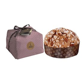 Artisanal Almonds Panettone from Sicily 1kg