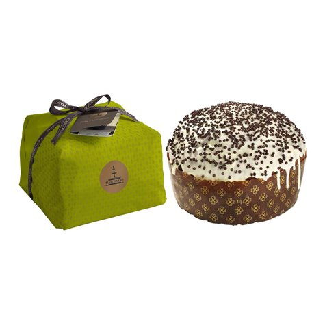 Artisanal Panettone with Pear Williams & Chocolate 1kg