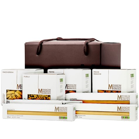 Mancini Shopper Bag Pasta Gift Box 4kg