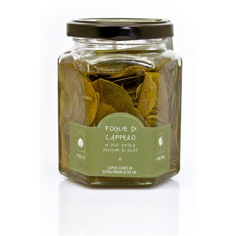 Caper Leaves in Extra-Virgin Olive Oil 220g