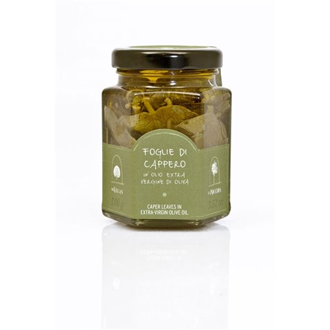 Caper Leaves in Extra-Virgin Olive Oil 100g (pack of 6)