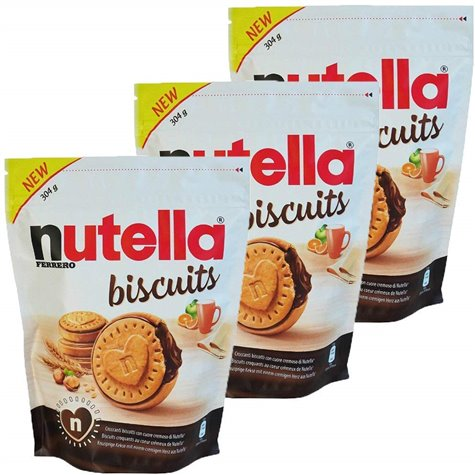 Nutella Biscuits 304g (pack of 3)