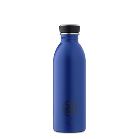 Urban 500ml Water Bottle Gold Blue