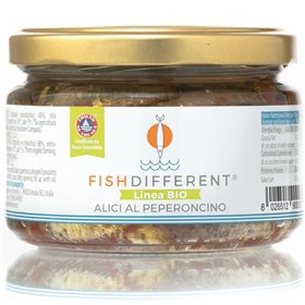 Anchovies in Extra Virgin Olive Oil with Chilli 250g