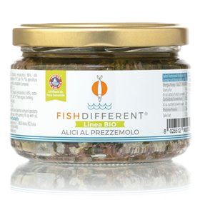 Fish Different - Anchovies in Extra Virgin Olive Oil with Parsley 250g