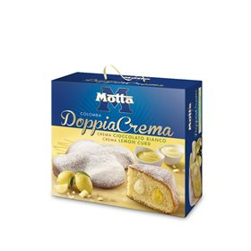 Motta Colomba Double Cream White Chocolate and Lemon Curd 1kg