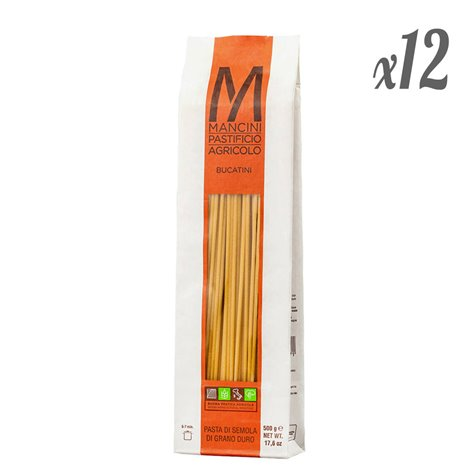 Bucatini Artisan Pasta (Pack of 12 x 500g)