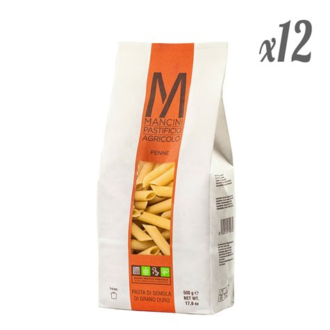 Penne Artisan Pasta (Pack of 12 x 500g)