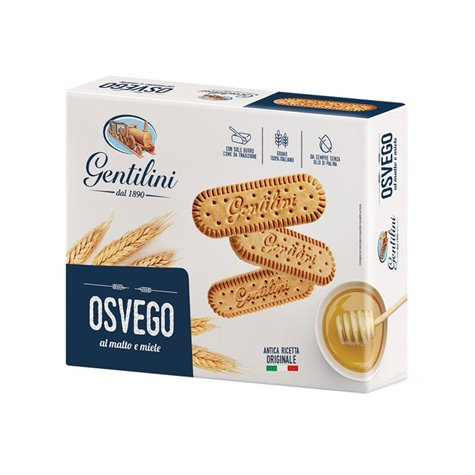 Gentilini Osvego Biscuits with Malt and Honey 1kg