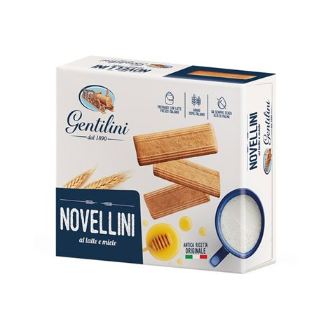 Gentilini Novellini Biscuits with Milk and Honey 1kg