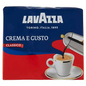 Lavazza Crema e Gusto Classico Gemahlener Kaffee 500g (2er Pack x 250g)