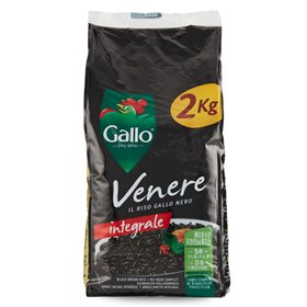 Riso Gallo Venere Brown Rice 2kg