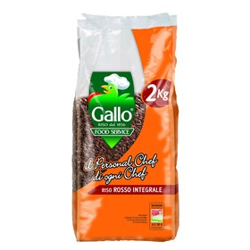 Riso Gallo Arroz Rojo Integral 2kg