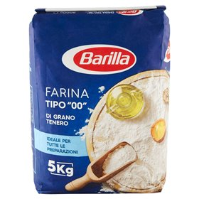 "Barilla Type ""00"" Soft Wheat Flour 5Kg"