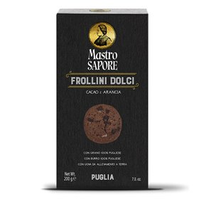 Mastro Sapore - Frollini Biscuits with Cocoa and Orange, 200g