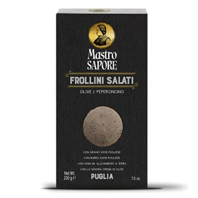 Mastro Sapore - Frollini Biscuits with Olives and Chilli, 200g