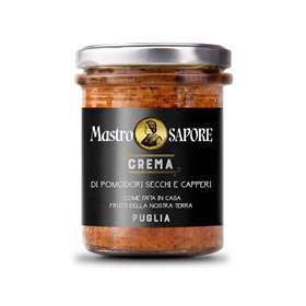 Mastro Sapore - Sun Dried Tomatoes and Capers Paste in Extra Virgin Olive Oil, 180g