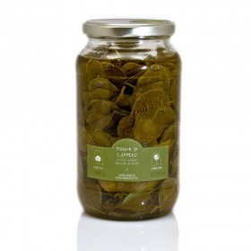 La Nicchia Pantelleria - Caper Leaves in Extra-Virgin Olive Oil 900g