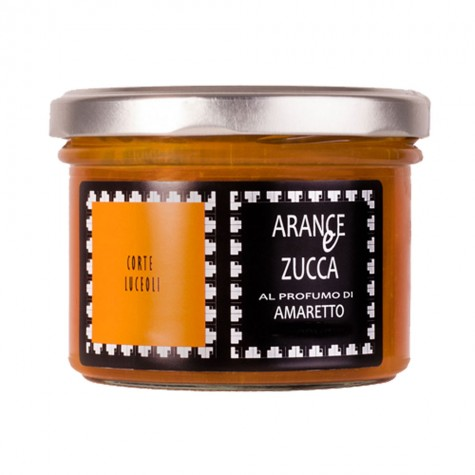 Oranges & Pumpkin Preserve Scented with Amaretto Corte Luceoli 250gr