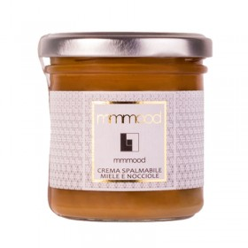 Mmmood Honey & Hazelnuts Spreadable Cream 165gr