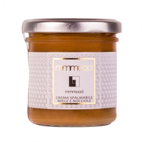 Mmmood Cream of Honey & Hazelnuts Corte Luceoli 165gr