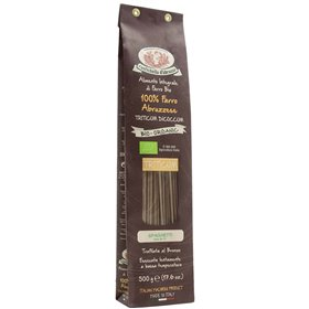 Organic Whole Wheat Farro Spaghetti Pasta 500gr