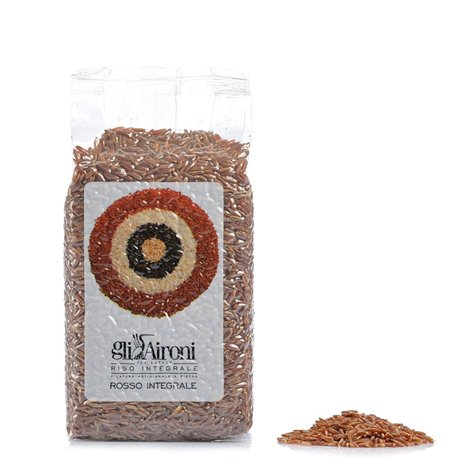 Rosso Selvatico Whole Grain Red Rice 1kg