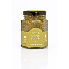 La Nicchia Pantelleria - Caper And Oregano Paste 100g