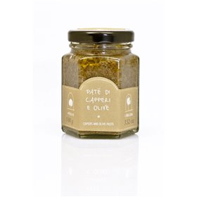La Nicchia Pantelleria - Caper And Olive Paste 100g