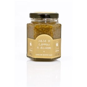La Nicchia Pantelleria - Capers and Anchovies Sauce 100g