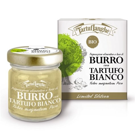 Organic Butter With White Truffle 30g