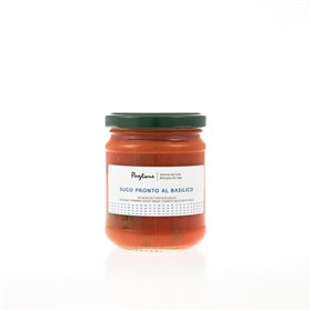 Organic Ready Made Tomato Sauce With Basil 314g