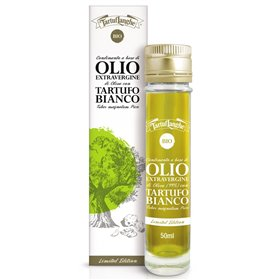 TartufLanghe - Huile d'Olive Extra Vierge et Truffe Blanche 50ml