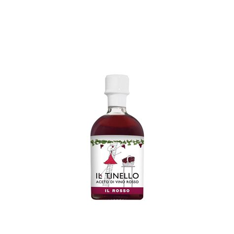 Il Tinello Red Wine Vinegars 250ml