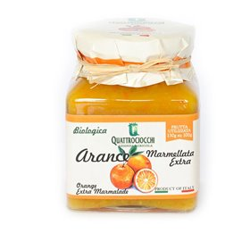 Marmelade Extra d'Orange Biologique 350gr
