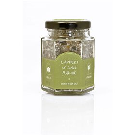 La Nicchia Pantelleria - Medium Capers in Sea Salt 90g