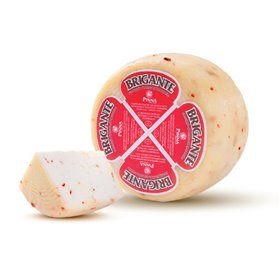 Brigante With Red Peppers Sheep's Milk Cheese (approx. 250g)
